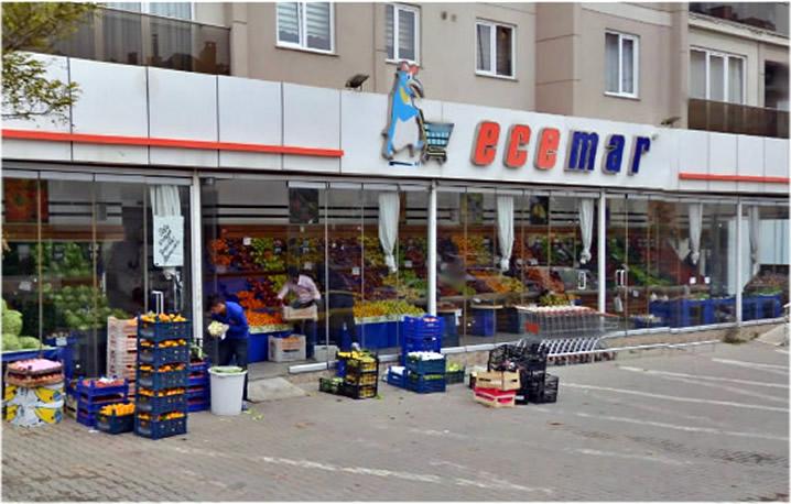 Ecemar Hipermarket Market Dolabı Tamiri